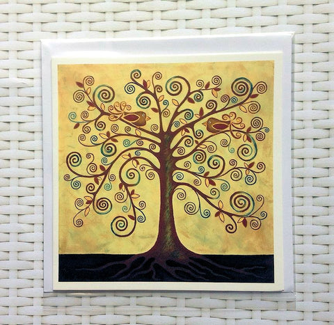 Tree Of Life Card - Quirky Happy