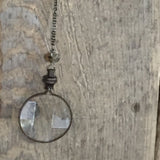 Antique Magnifying Glass Necklace