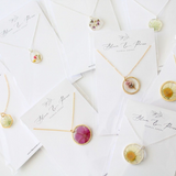 Botanical Pressed-Flower Jewelry