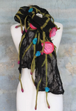 Hand-Felted Scarves