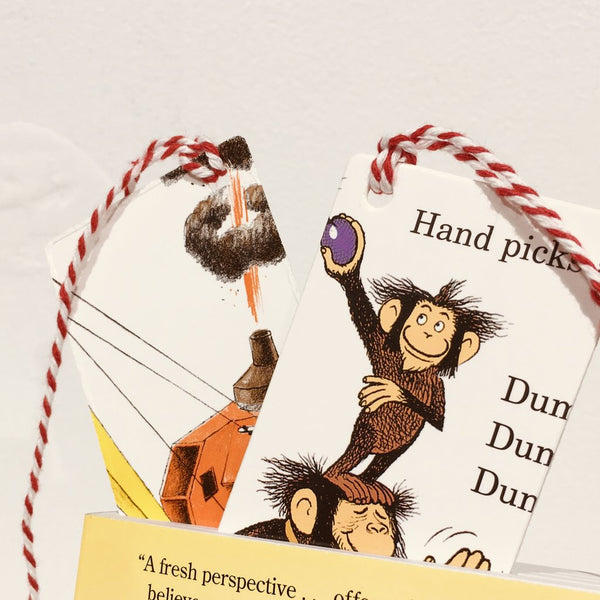 Rescued Board Book Bookmarks