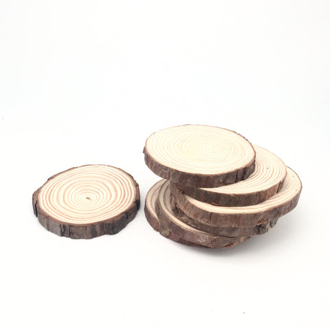 Wood Slice Candle Coaster