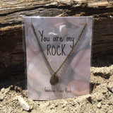 You Are My Rock Necklace