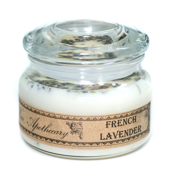 French Lavender 10oz Botanical Double Wick Candle