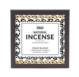 Handmade ZOUZ BLEND - FRANKINCENSE, MYRRH, BENZOIN & BAY LAUREL CONE INCENSE
