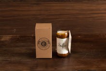 Load image into Gallery viewer, Small Upcycled Glass Bottle Soy Wax Candle (40+hours)