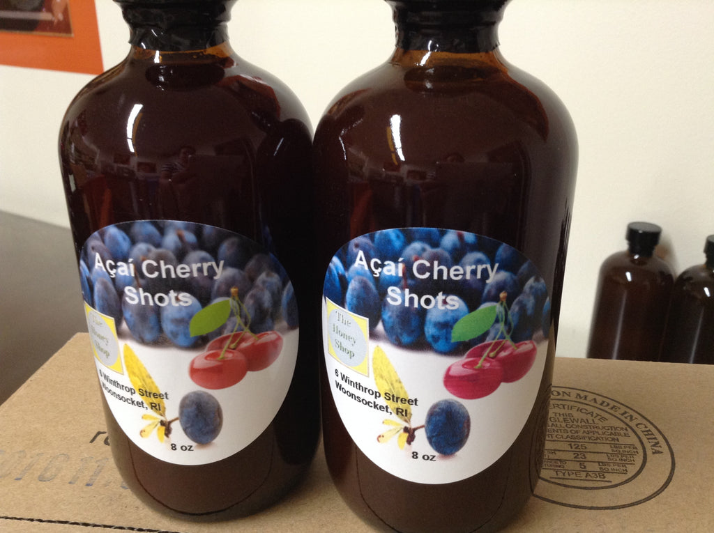 Apple Cider Vinegar: Açaí Berry & Cherry