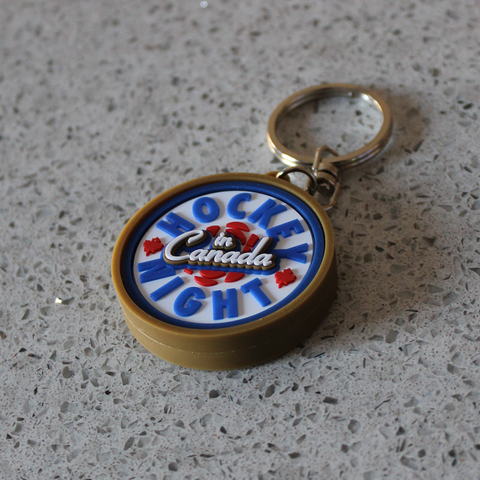 """Hockey Night in Canada"" Premium Keychain"