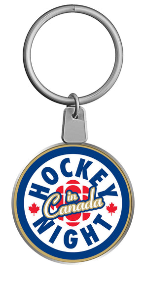 """Hockey Night in Canada"" Keychain"
