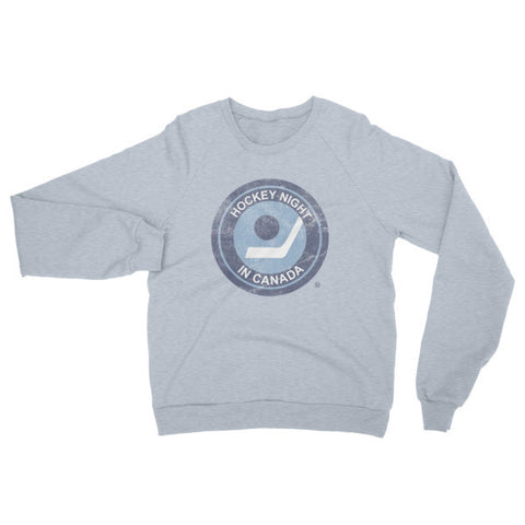 """Hockey Night in Canada"" California Fleece Raglan (original logo)"
