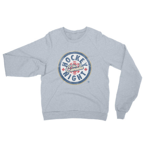 """Hockey Night in Canada"" California Fleece Raglan (modern logo)"