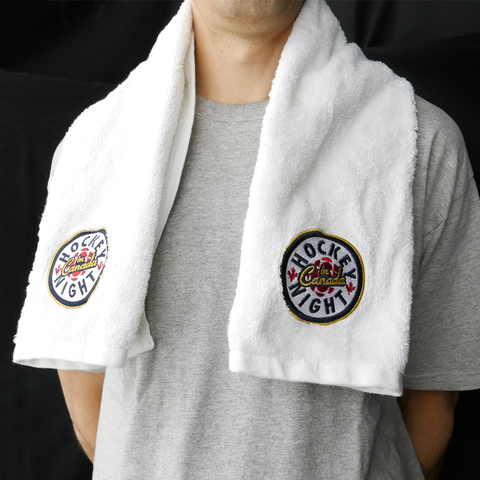 Hockey Night in CanadaⓂ Hockey Towel | LA SERVIETTE OFFICIELLE DU HOCKEY
