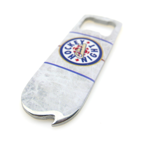 """Hockey Night in Canada"" 2-in-1 Bottle Opener"