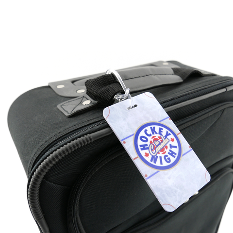 """Hockey Night in Canada"" Luggage Tag"
