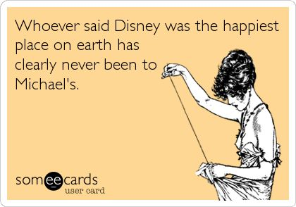 Disney Michael's Happiest Place on Earth Crafter