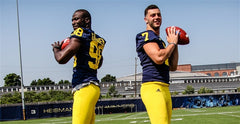 Shane Morris and Devin Gardner University of Michigan