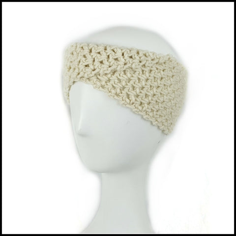 Beige Twist Earwarmer