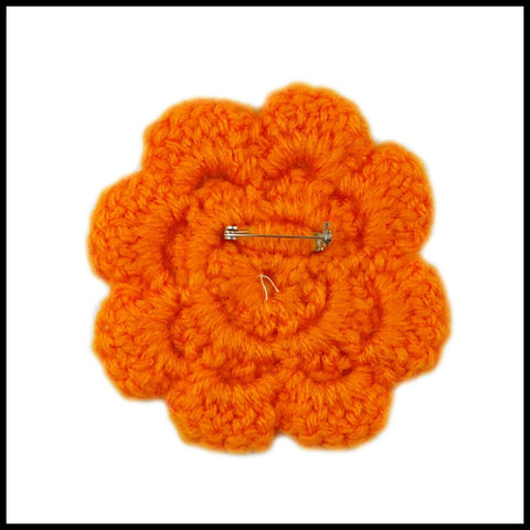 Orange Flower - Bundle Up Crochet - 2