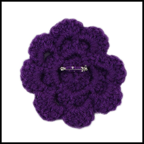 Purple Flower - Bundle Up Crochet - 2