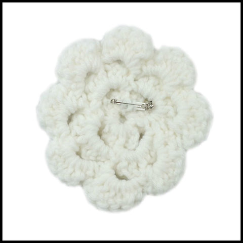 White Flower - Bundle Up Crochet - 2