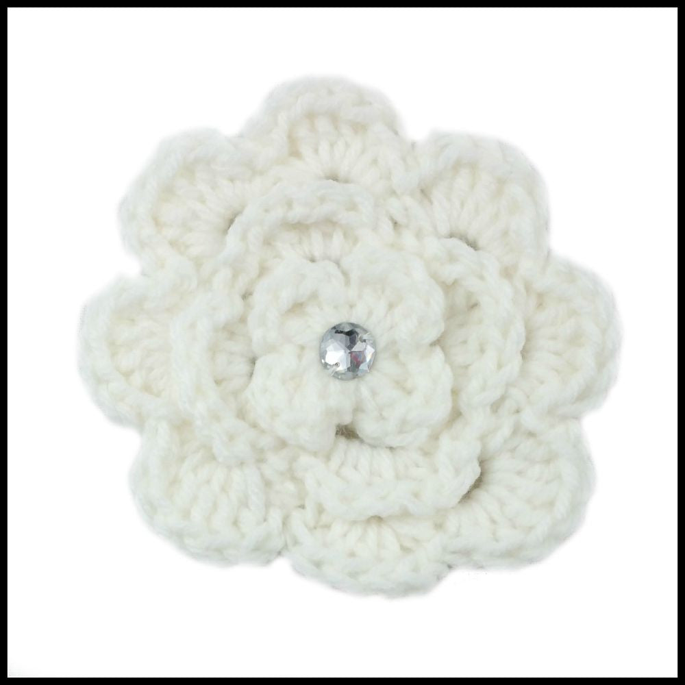 White Flower - Bundle Up Crochet - 1