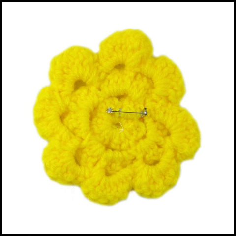 Yellow Flower - Bundle Up Crochet - 2
