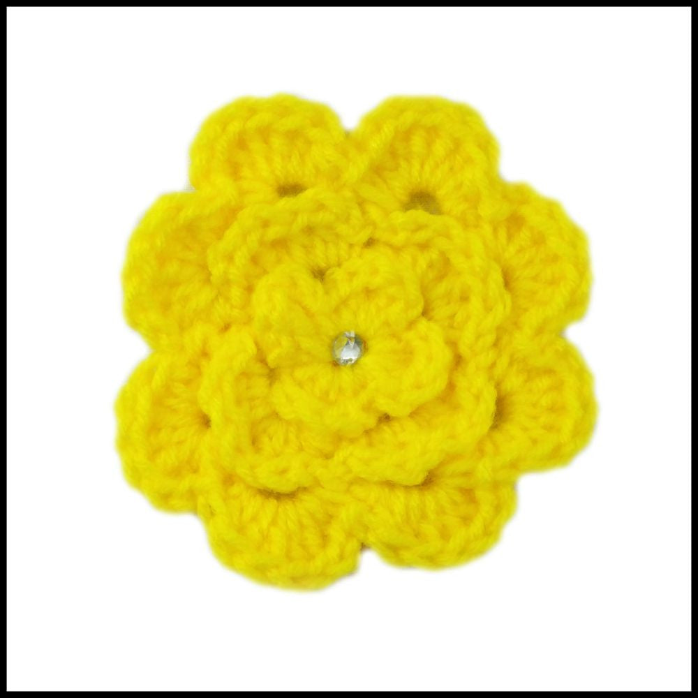 Yellow Flower - Bundle Up Crochet - 1