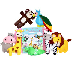 Zoey's Art Safari & Jungle Sewing Kit