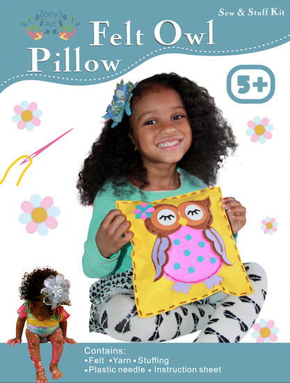 Sew and Stuff Owl Pillow
