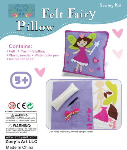Sew and Stuff Fairy Pillow