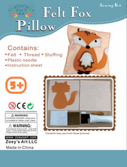 Sew and Stuff Fox Pillow