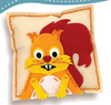 Image of Sew and Stuff Squirrel Pillow