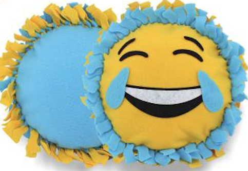 Laughing Emoji Pillow