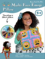 Image of Four Face Pillow Emoji Pillow