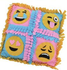 Four Face Pillow Emoji Pillow