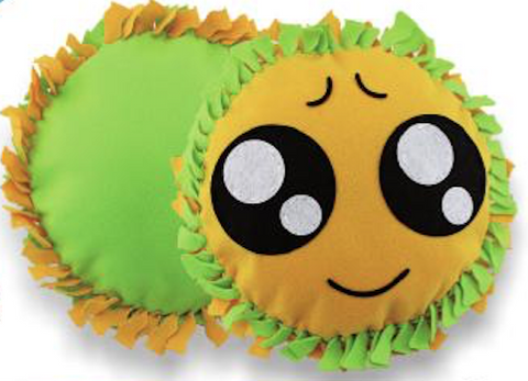 Big Eye Emoji Pillow