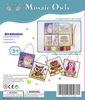 Image of Mosaic Owls Art and Craft Sticky Mosaic Kit for Kids