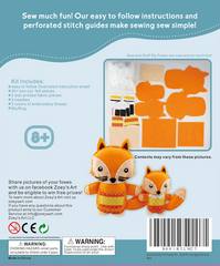 Sly Fox Family Felt Sewing Kit