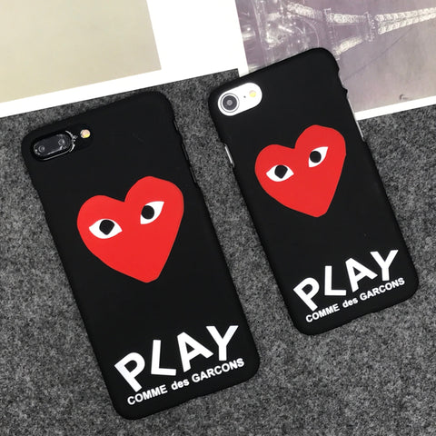 Playful Heart Eyes iPhone Case