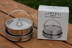 Open Flame Camping 4 Piece Cook Set #1