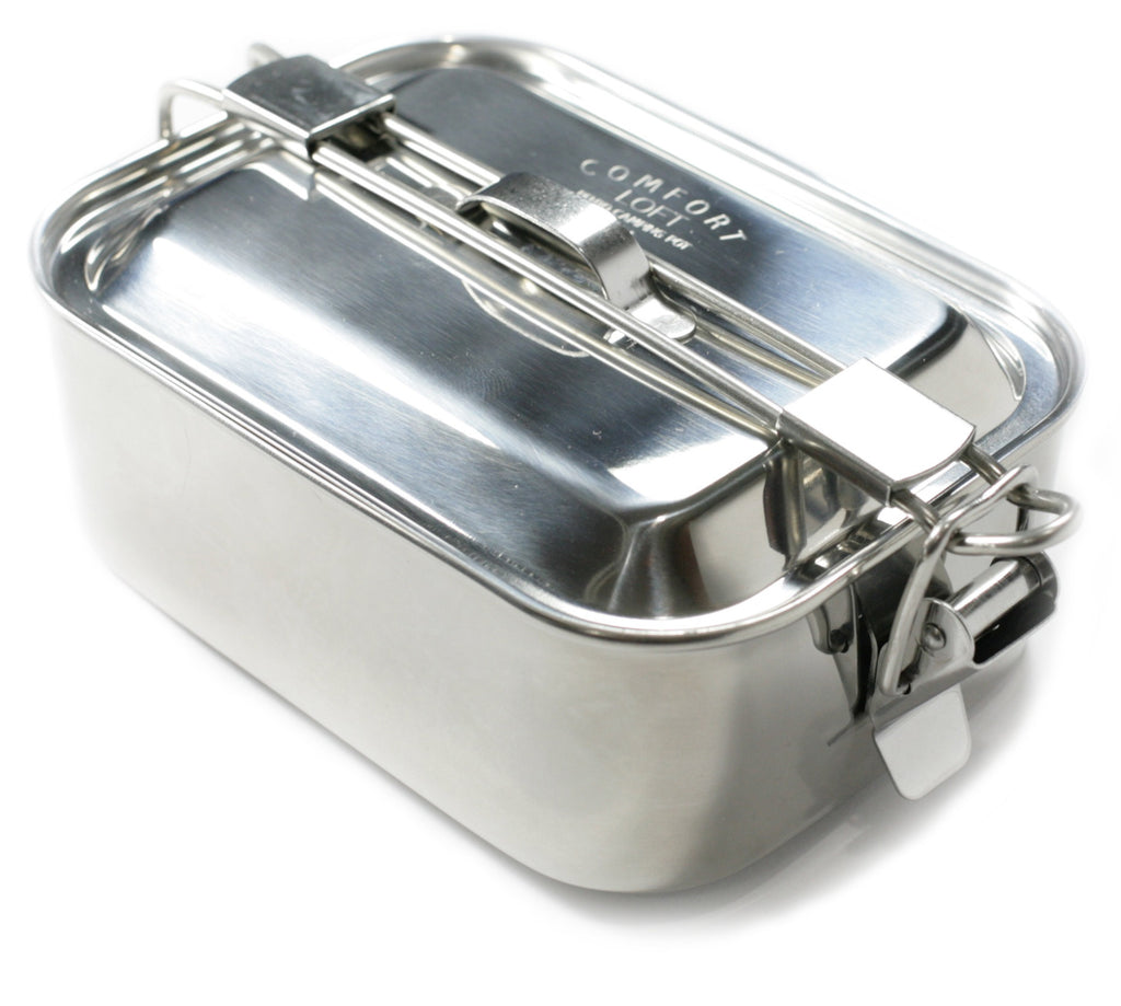Bento Camping Storage Pot (Rectangular)