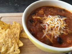 Turkey, Bean and Vegetable Chili