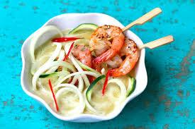 Shrimp with Zoodles Green Curry