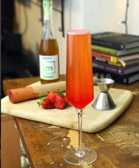strawberry red cocktail mocktail juice