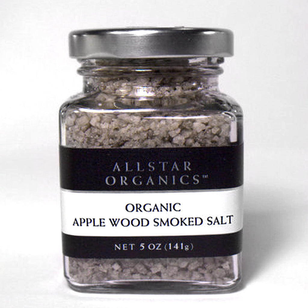 Organic Apple Wood Smoked Salt  5oz - Foodlyn