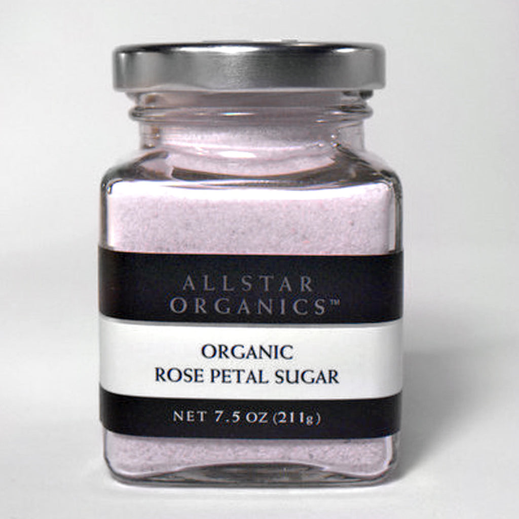 Organic Rose Petal Sugar  7.5oz - Foodlyn