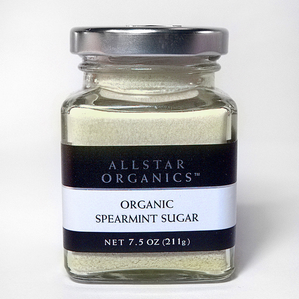 Organic Spearmint Sugar  7.5oz - Foodlyn
