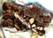 dark chocolate rocky road almonds dessert