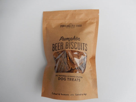 Beer Biscuits with Pumpkin Dog Treats  5oz - Foodlyn - 1