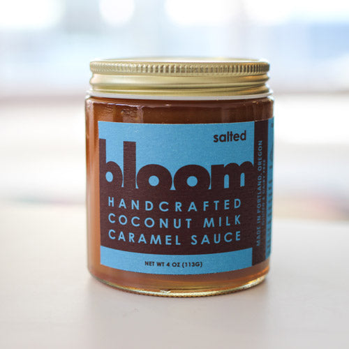 Salted Coconut Milk Caramel Sauce